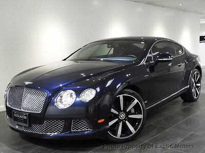 2013 Bentley Continental GT 2dr Coupe 2013 BENTLEY GT COUPE W12 LE MANS EDITION 1 OF 48 REAR-CAMERA 567HP MSRP$218k