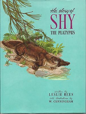 Vintage The story of Shy The Platypus Leslie Rees Illustrated W Cunningham