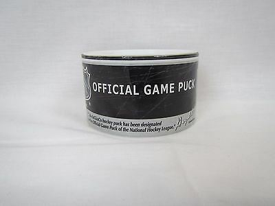 NHL Official Game Puck from a Detroit Red Wings Hockey game