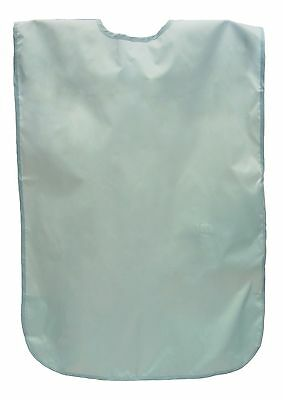 Adult Waterproof Coverall Bib with Catch-All Pocket and Carrying Case, Mint