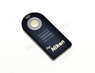 IR Wireless Shutter Remote Control Controller for Nikon DSLR Camera D3400 ML-L3
