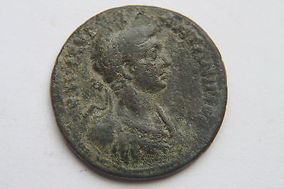 ANCIENT ROMAN PROVINCIAL TEMPLE COIN of GETA  3rd CENTURY AD