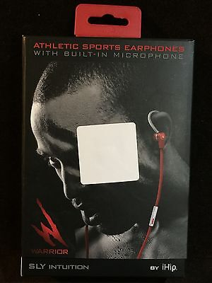 31614e51a0b NEW iHip Warrior SLY Intuition Athletic Sports Earphones w/Built-in  Microphone
