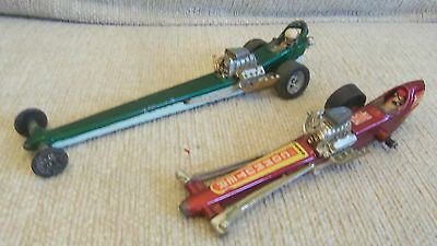 Corgi Toys Quartermaster Dragster Whizzwheels & Commuter Dragracer