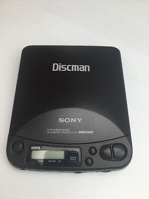 SONY  D-121  DISCMAN  Personal CD Compact  Player - Tested Working