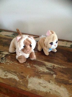 Furreal Friends Pets Fur Real Kitten And Rabbit Vgc And Working Well