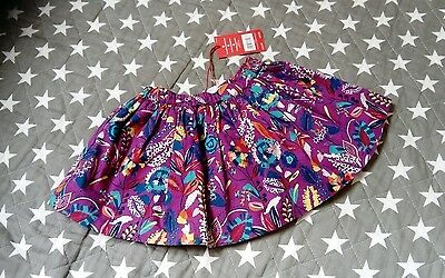 baby girls bright floral skirt age 6-9 months bnwt