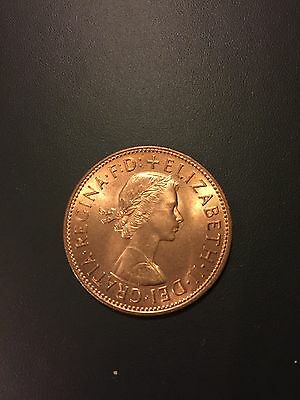 Almost Uncirculated 1960s UK Lucky Penny Coins