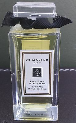 Sealed Jo Malone Lime Basil Mandarin 30ml Bath Oil