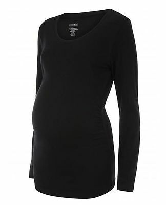 Jeanswest Mena Maternity Long Sleeve Top Sz L/au 14 ~ New Tag Stretch Pullover