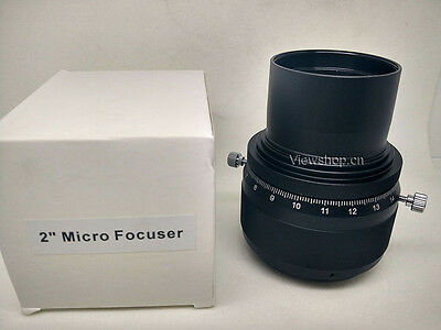 """2"""" rotating helical micro focuser with M48 male thread 0.1mm accuracy"""
