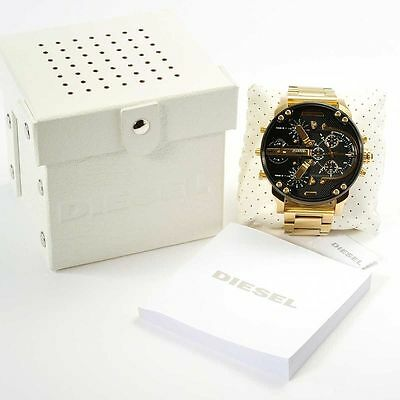 Brand New Diesel Men's DZ7333 Mr. Daddy 2.0' Chronograph 4 Time Zones Watch