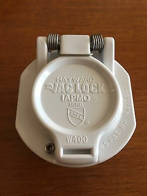 NEW HAYWARD OEM W400BWHP VAC SAFETY LOCK, White, FREE SHIPPING