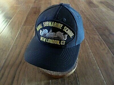 Naval Submarine School New London Ct Hat Official U.s Military Ball Cap Usa Made