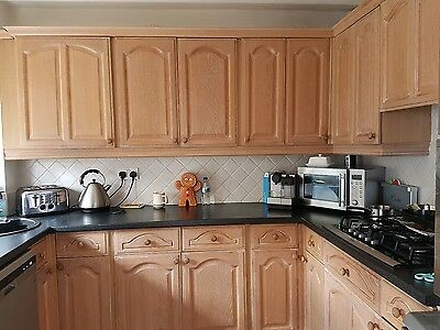 Complete Kitchen Units In Excellent Condition