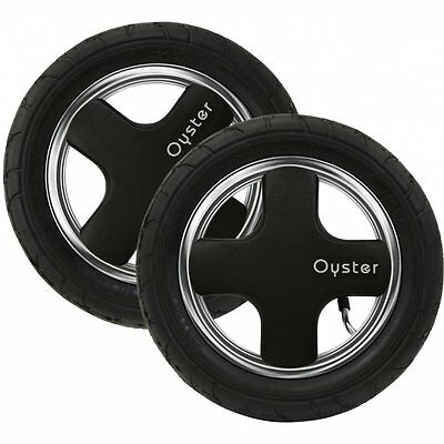 Babystyle Oyster 1 or 2 Rear Air Wheels 2 Pack NEW fits also M&P Sola/Zoom