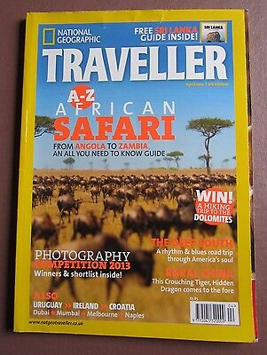 National Geographic Traveller Magazine - April 2013, Issue 16