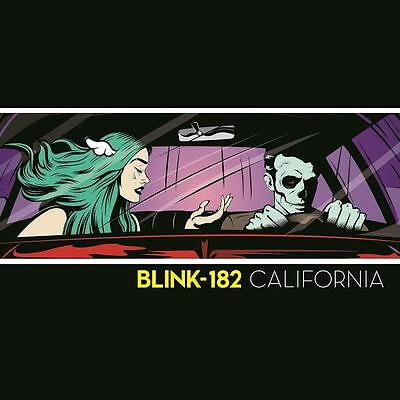 Blink 182 California Deluxe New Album Ltd Coloured Vinyl 2Lp In Stock