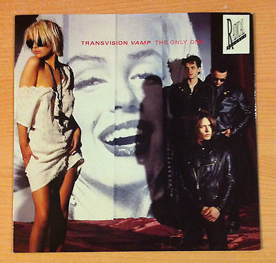 "TRANSVISION VAMP "" The Only One ""  - Vinyl Ep 12""  -  MCA   TVVT 7  - 1989  UK"