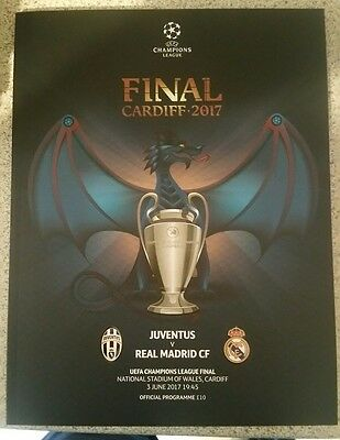 Champions league final official programme.