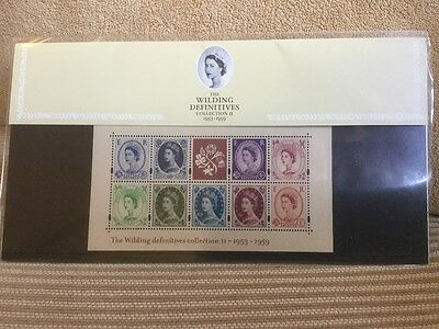 Presentation Stamp Pack The Wilding Definitives Collection II 1953-1959
