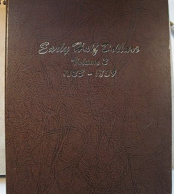 Dansco Vol. 2 Bust Half Album Extra Blank Page Nice Used Condition Free Shipping
