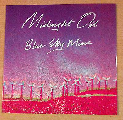 "MIDNIGHT  OIL "" Blue Sky Mine ""  - Vinyl Ep 12""  - CBS   OIL T5  - 1990 UK."