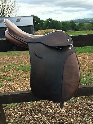 16.5 inch ideal working hunter show saddle