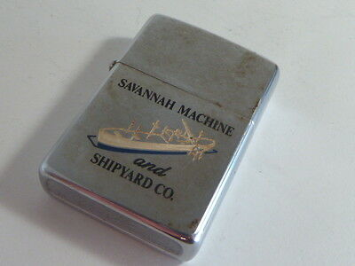 BRIQUET ZIPPO DE COLLECTION : SAVANNAH MACHINE and SHIPYARD CO.