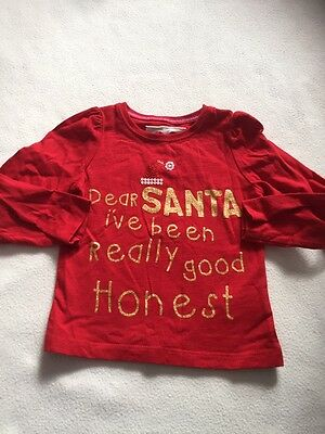 Baby Girls Clothes 18-24 Months- Cute Christmas T Shirt  Top