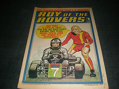 Roy Of The Rovers Comic Book 2Nd July 1977 Football Gift Idea Birthday Christmas