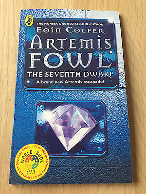 Artemis Fowl - Seventh Dwarf by Eoin Colfer *SIGNED COPY, FIRST EDITION & MINT*