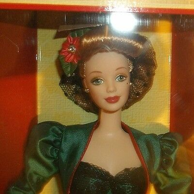 Hallmark Holiday Sensation Barbie doll, 1998, NRFB, box has creases/dents