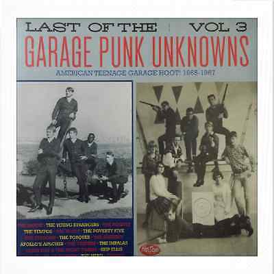 LP/VA✶LAST OF THE GARAGE PUNK UNKNOWNS#3 ✶American Teenage Garage Hoot!1965-1967