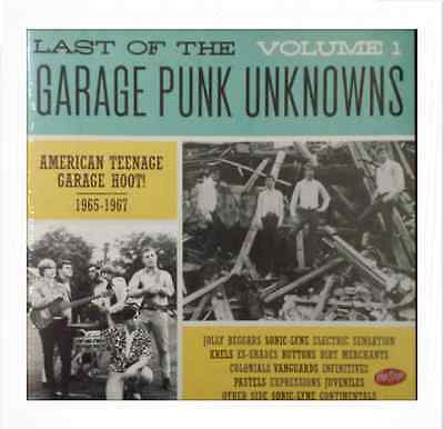 LP/VA✶LAST OF THE GARAGE PUNK UNKNOWNS#1 ✶American Teenage Garage Hoot!1965-1967