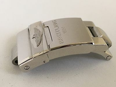Genuine New Breitling 16mm Clasp For The 18mm Professional Bracelet - Colt Etc