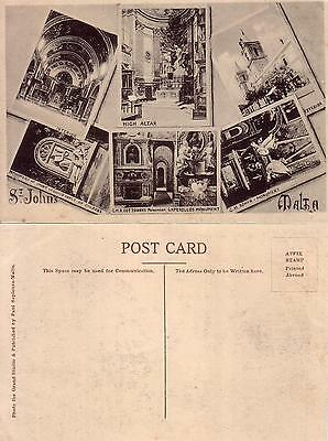 Post Card    Malta  Souvinir  Primi 900