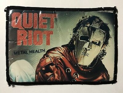 Quiet Riot Patch - Back Patch - Sew On - Hair Band Metal