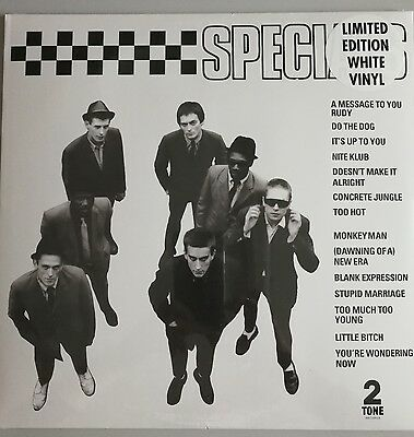 The Specials Limited Edition White Vinyl