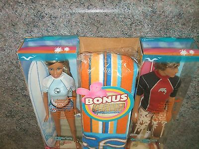 BARBIE of California Girl BLAINE California Boy with BONUS TOWEL sealed NIB rare