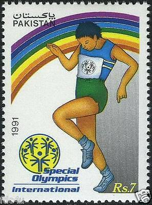 Pakistan Stamps 1991 Special Olympic Games Disabled International