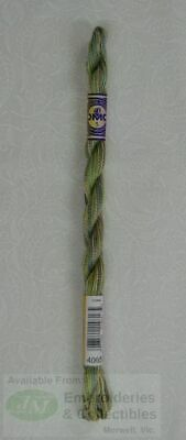DMC Perle Cotton Variations Size 5, 25m Skein, Colour 4065 MORNING MEADOW