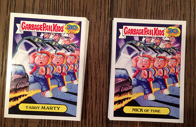 '80s Spoof Set 2015 Topps Garbage Pail Kids 30th Anniversary (50) 80s 1980s