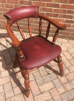 Very Handsome Reproduction Captains / Desk / Office Chair