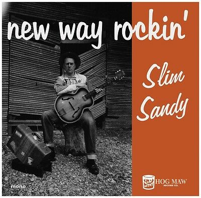 Slim Sandy - New Way Rockin' - Great Rockabilly-R&b-Garage Feel Lp