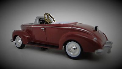 1940s Ford Pedal Car A Vintage Classic Hot T Rod Midget Metal Show Model
