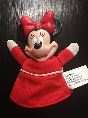 Walt Disney TV Cartoon Minnie Mouse finger toy puppet 3+ Made in China