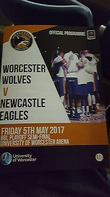 Worcester Wolves v Newcastle Eagles BBL Play Off SF 2nd leg May 5th 2017