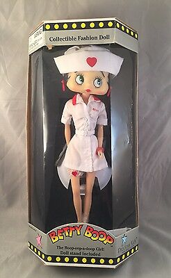"Precious Kids Betty Boop WWII Nurse 1998 12"" inch Collectible Fashion Doll"