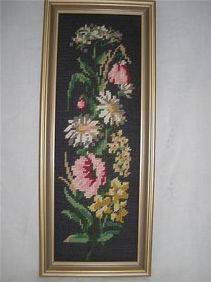 Fabulous Hand Made Wall Hanging Framed Tapestry